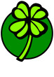 four leaves lucky shamrock or clover