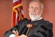 Leinwanddruck Bild - American judge