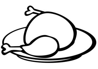 turkey in a dish