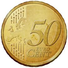 Pięćdziesiąt euro cent monety