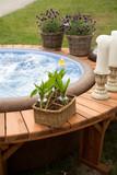 Fototapety luxury spa bath