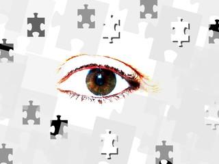 Puzzle - Auge