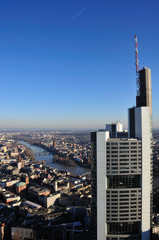View over Frankfurt\Main