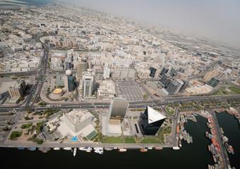 Deira Cityscape In The Emirate Of Dubai