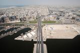 Floating Bridge In Dubai Connects Bur Dubai To Deira poster
