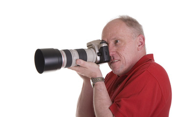 Photographer with Nice Lens