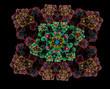 Almost symmetrical pattern