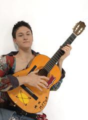 ragazzo con chitarra
