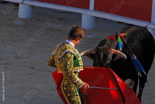 Staande foto Stierenvechten torero 1