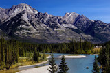 Bow River in Banff National park, Canadian Rockies poster