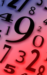 Numbers figures characters digits