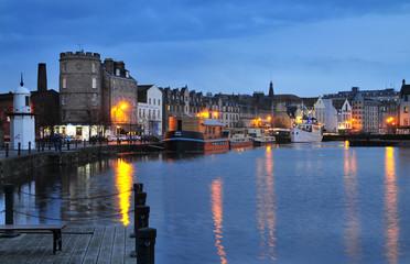Edinburgh, alter Hafen Leith