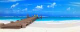 caraibean beach ponton