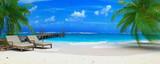 Fototapety caraibean beach ponton 06