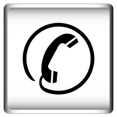Telefonhörer - Button