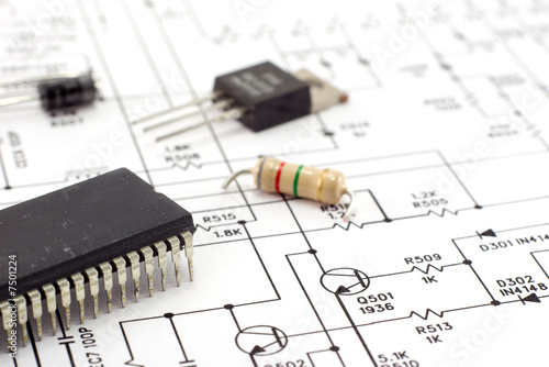 Schematic diagram. - 7501224