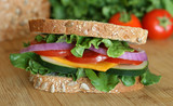 Vegetarian Sandwich poster