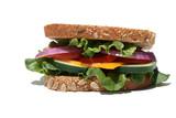 Vegetarian Sandiwch poster