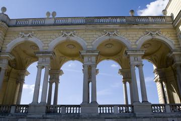 Gloriette in der Schlossanlage Schoenbrunn, Wien