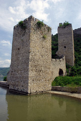 Tower of old fortification in Serbia
