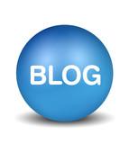 Blog - blue poster