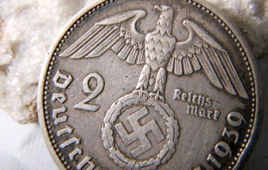 german reichs coin