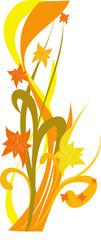 astratto floreale