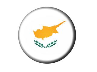 Zypern Flaggen Knopf