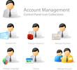 Detaily fotografie za vedení účtu - ovládací panel nastavit ikonu