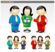 Business Team - officio icon set
