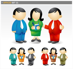 Business Team - officio icon set
