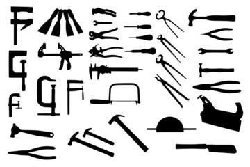 isolated tools