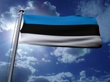Estonia Flag poster
