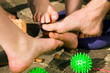 Fußgesundheit: Fußgymnastik