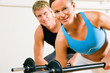 Powergymnastik mit Langhantel