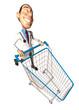 Médecin fait du shopping
