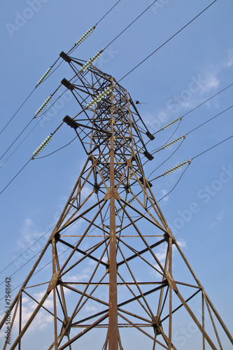 Power transmission pole