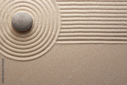 canvas print picture Zen garden
