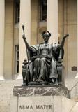 Statue of Alma Mater at Columbia University, New York poster
