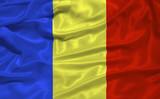 Romania Flag 3 poster