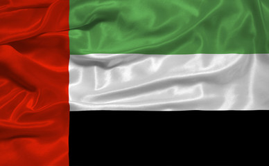 United Arab Emirates Flag 3