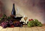 Ambientazione uva e vino - Fine Art prints