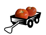 tomatoes in a trailer poster