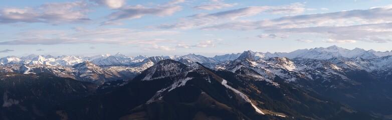 Austrian Alps mountain panorama