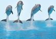 roleta: Delphine springen