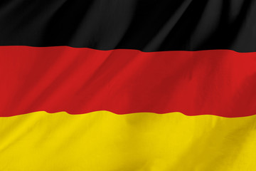German waving flag