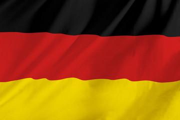 German waving flag