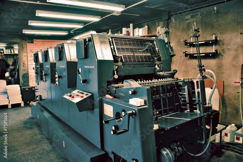 Imprimerie - 7581664