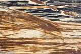 textures - metallic _ scratched paint poster