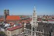 München - Panorama Altstadt
